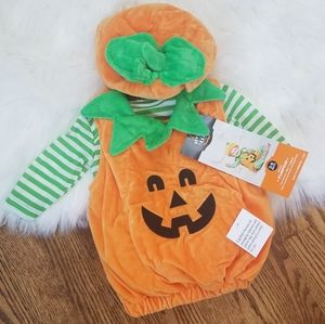 NEW pumpkin costume Thanksgiving fall baby infant